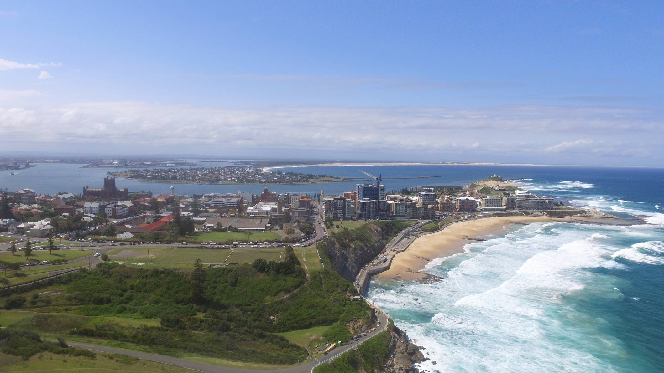 Newcastle NSW Aerial Photograph